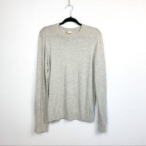 🌸2/$30🌸 Grey Hollister Long Sleeve Sweater